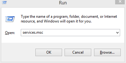 Windows Run Menu