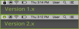 Carbonite Mac Version 1.x vs Carbonite Mac Version 2.x