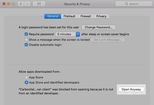 macOS Security & Privacy: Open Anyway