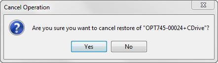 Confirm Cancel Restore