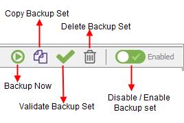 Backup Set Icons