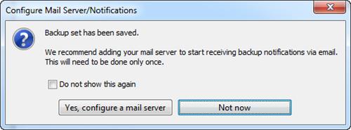 Configure Mail Server/Notifications